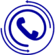 telephone-receiver-with-circular-arrows