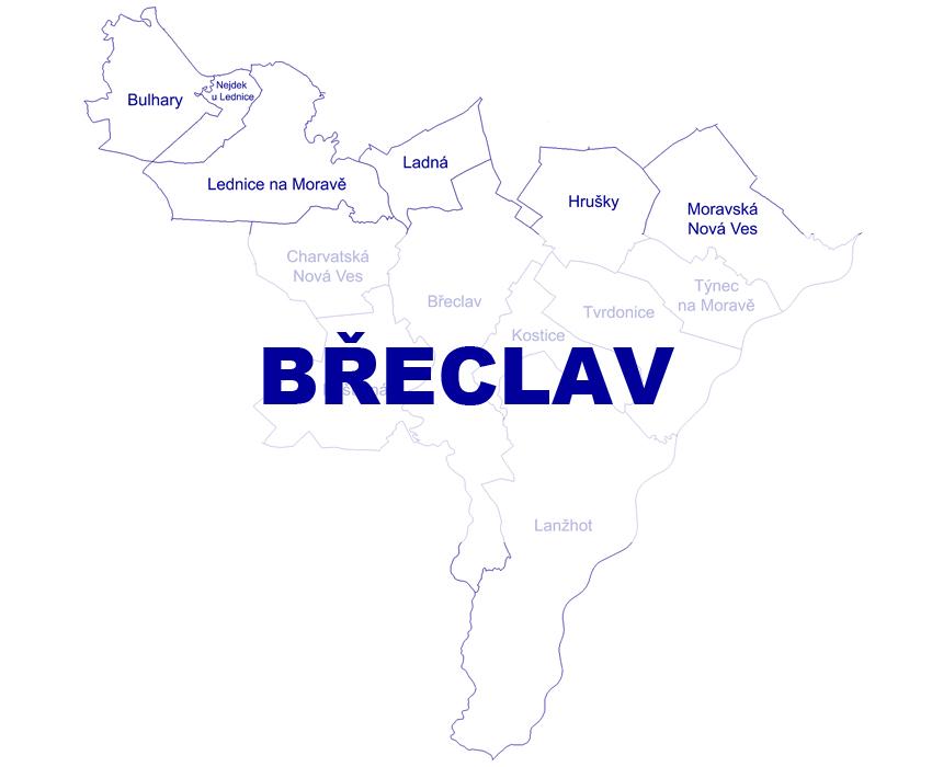 Geodetické práce Břeclav