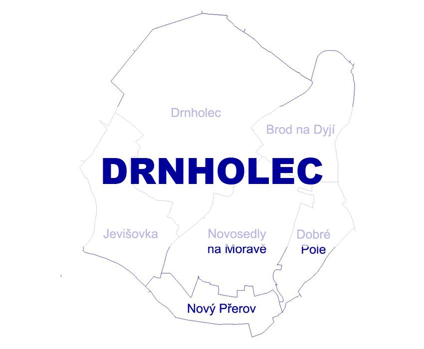 Geodetické práce Drnholec