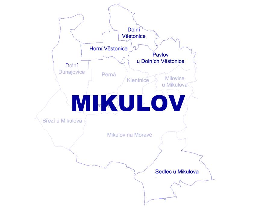 Geodetické práce Mikulov