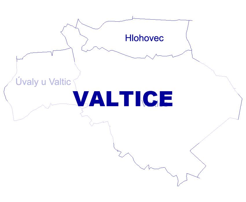 Geodetické práce Valtice